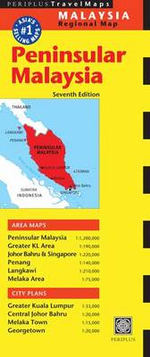 Peninsular Malaysia Travel Map - Periplus Editors