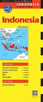 Indonesia Travel Map : A Critical Geography of Immigration Policy - Periplus Editions