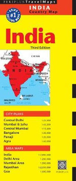 India Travel Map : 100, 000 - Periplus Editors