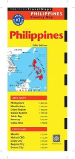 Philippines Travel Map - Periplus Editors