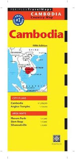 Cambodia Travel Map - Periplus Editors