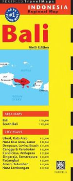 Bali Travel Map - Periplus Editors