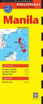 Manila Travel Map - Periplus Editors
