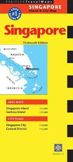 Singapore Travel Map - Periplus Editors