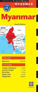 Myanmar Travel Map : Periplus Travel Maps - Periplus Editors