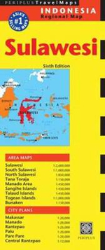 Sulawesi Travel Map - Periplus Editions