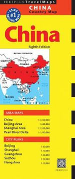 China Travel Map - Periplus Editors