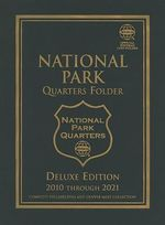National Park Quarters Folder : Complete Philadelphia and Denver Mint Collection