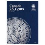 Canada 25 Cent Folder #5, 2001-2009 - Whitman Publishing