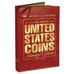 A Guide Book of United States Coins : The Official Red Book Limited Leather Edition - R S Yeoman