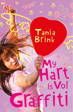 My hart is vol graffiti - Tania Brink