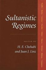 Sultanistic Regimes