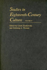 Studies in Eighteenth-century Culture : v. 37