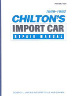 Chilton's Import Auto Car Repair Manual 1988-1992 : Make Your Teen a Safer, Smarter Driver - Chilton