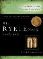 Ryrie Study Bible-NASB : Ryrie Study Bibles 2008 - Charles C Ryrie