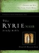 Ryrie Study Bible-NASB : Small Monthly - Charles C Ryrie