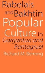 Rabelais and Bakhtin : Popular Culture in
