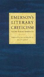 Emerson's Literary Criticism - Ralph Waldo Emerson
