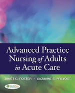 Advanced Practice Nursing of Adults in Acute Care - Suzanne S. Prevost