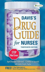 Davis's Drug Guide for Nurses - April Hazard Vallerand