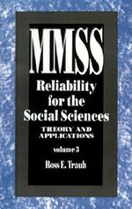 Reliability for the Social Sciences : Theory and Applications - R.E. Traub
