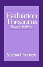 Evaluation Thesaurus - Michael Scriven