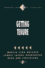 Getting Tenure - Marcia Lynn Whicker