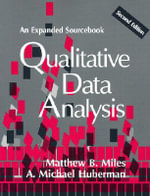 Qualitative Data Analysis : An Expanded Sourcebook - Matthew B. Miles