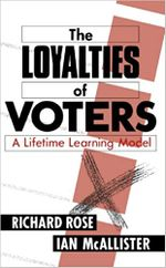 The Loyalties of Voters : A Lifetime Learning Model - Richard Rose
