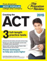 Cracking the Act with 6 Practice Tests 2019 : 2019 Edition - Princeton Review