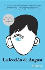 La Leccion de August : Wonder (Spanish-Langugae Edition) - R J Palacio