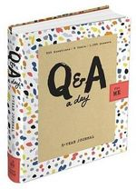 Q&A a Day for Me : 3-Year Journal - Betsy Franco