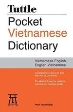 Tuttle Pocket Vietnamese Dictionary : Vietnamese-English English-Vietnamese - Phan Van Giuong