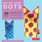 Origami Paper Dots : 49 Sheets : Perfect for Small Projects or the Beginning Folder