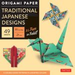 Origami Paper Traditional Japanese Designs Large : Traditional Japanese Designs Large - Tuttle Publishing