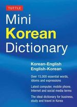 Tuttle Mini Korean Dictionary : Korean-English English-Korean - Tuttle Editors