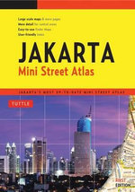 Jakarta Mini Street Atlas First Edition : Jakarta's Most Up-To-Date Mini Street Atlas - Periplus