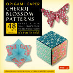 Origami Cherry Blossoms Paper Pack Small 6 3/4 : It's Fun to Fold! - Tuttle Publishing