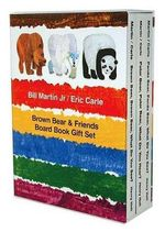 Brown Bear & Friends Board Book Gift Set - Bill Martin, Jr.