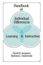Handbook of Individual Differences : Learning and Instruction - David H. Jonassen