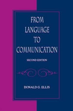 From Language to Communication - Donald G. Ellis