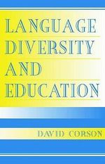Language Diversity and Education - David Corson