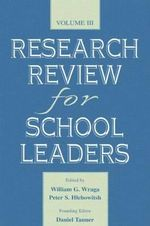 Research Review for the School Leaders : v. 3