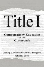 Compensatory Education at the Crossroads : Compensatory Education at the Crossroads
