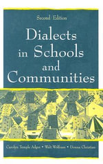 Dialects in Schools and Communities - Carolyn Temple Adger