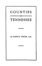 Counties of Tennessee - Foster, Mel