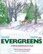Sugar White Snow and Evergreens : A Winter Wonderland of Color - Felicia Sanzari Chernesky