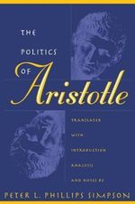 Politics : With Introduction, Analysis and Notes - Aristotle