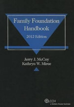 Family Foundation Handbook (2012) - Jerry J McCoy