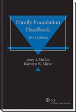 Family Foundation Handbook (2013) - Jerry J McCoy